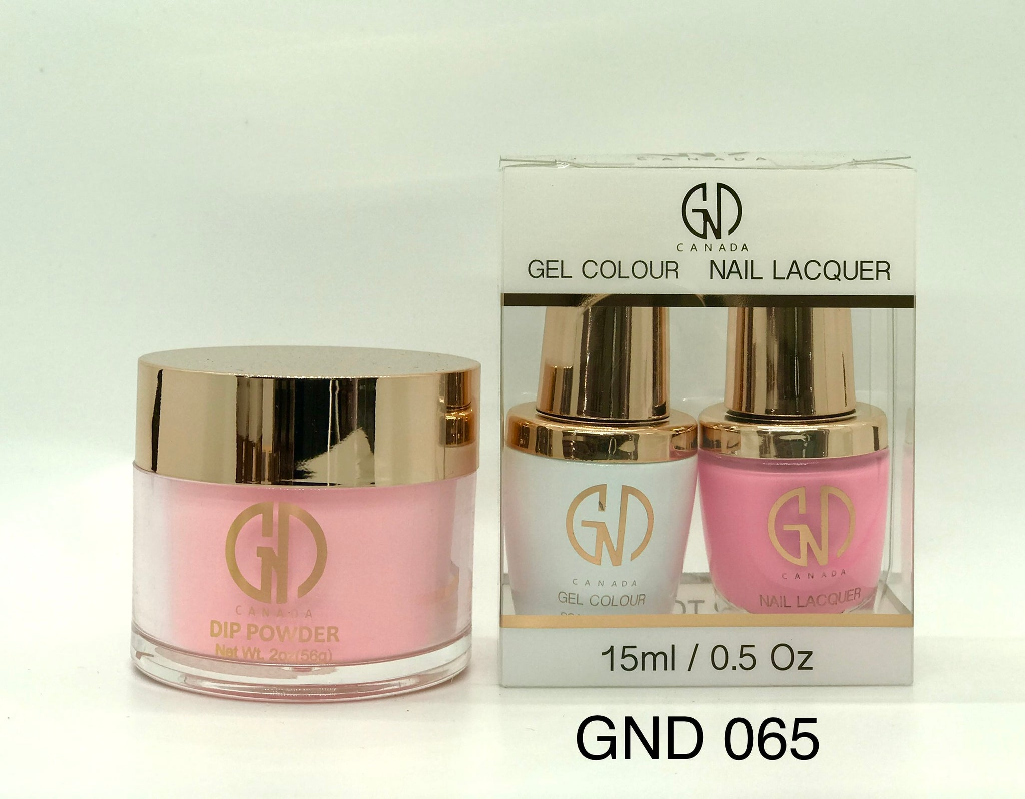 3-in-1 Nail Combo: Dip, Gel & Lacquer #065 | GND Canada® - CM Nails & Beauty Supply