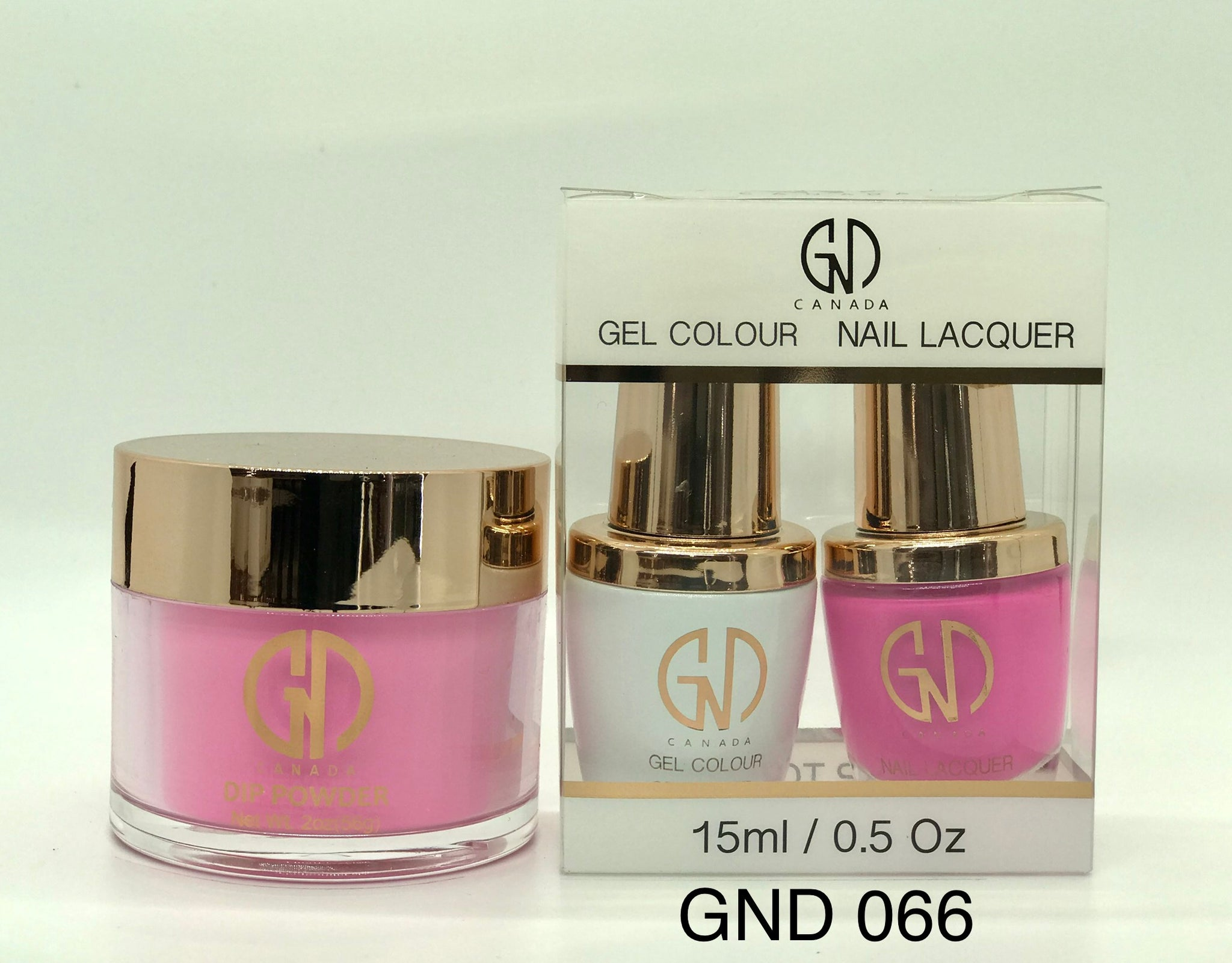 3-in-1 Nail Combo: Dip, Gel & Lacquer #066 | GND Canada® - CM Nails & Beauty Supply