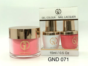 3-in-1 Nail Combo: Dip, Gel & Lacquer #071 | GND Canada® - CM Nails & Beauty Supply