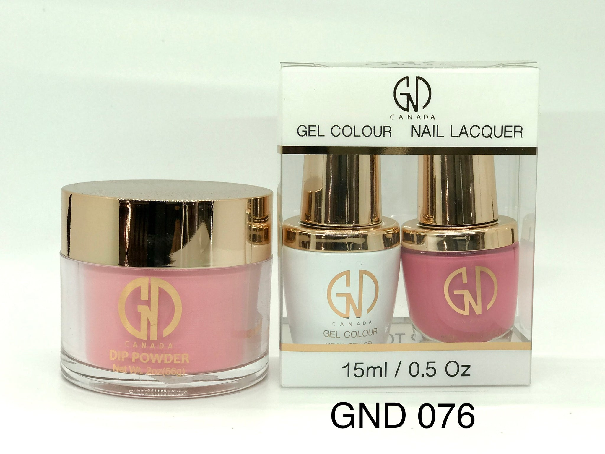 3-in-1 Nail Combo: Dip, Gel & Lacquer #076 | GND Canada® - CM Nails & Beauty Supply
