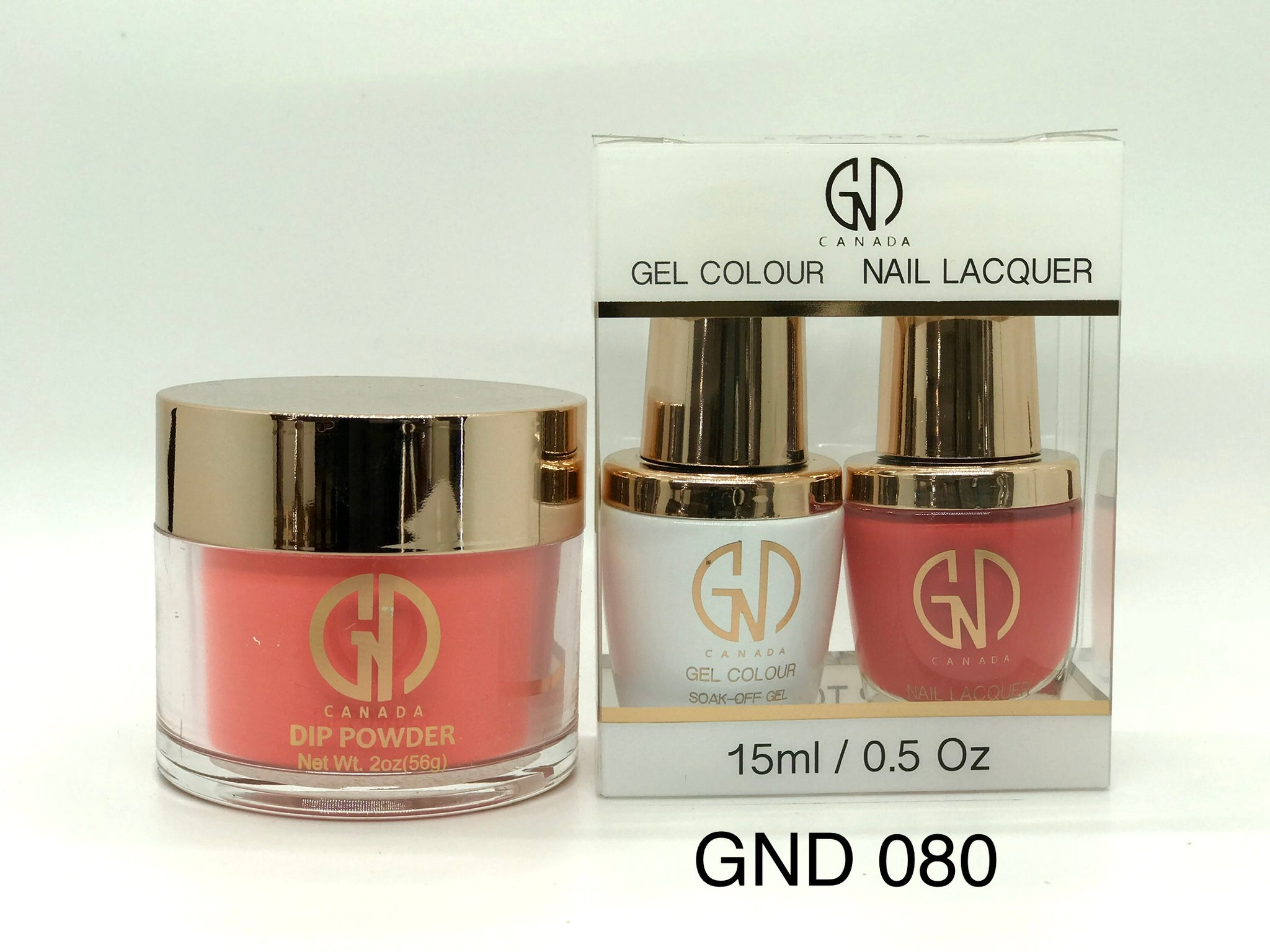 3-in-1 Nail Combo: Dip, Gel & Lacquer #080 | GND Canada® - CM Nails & Beauty Supply