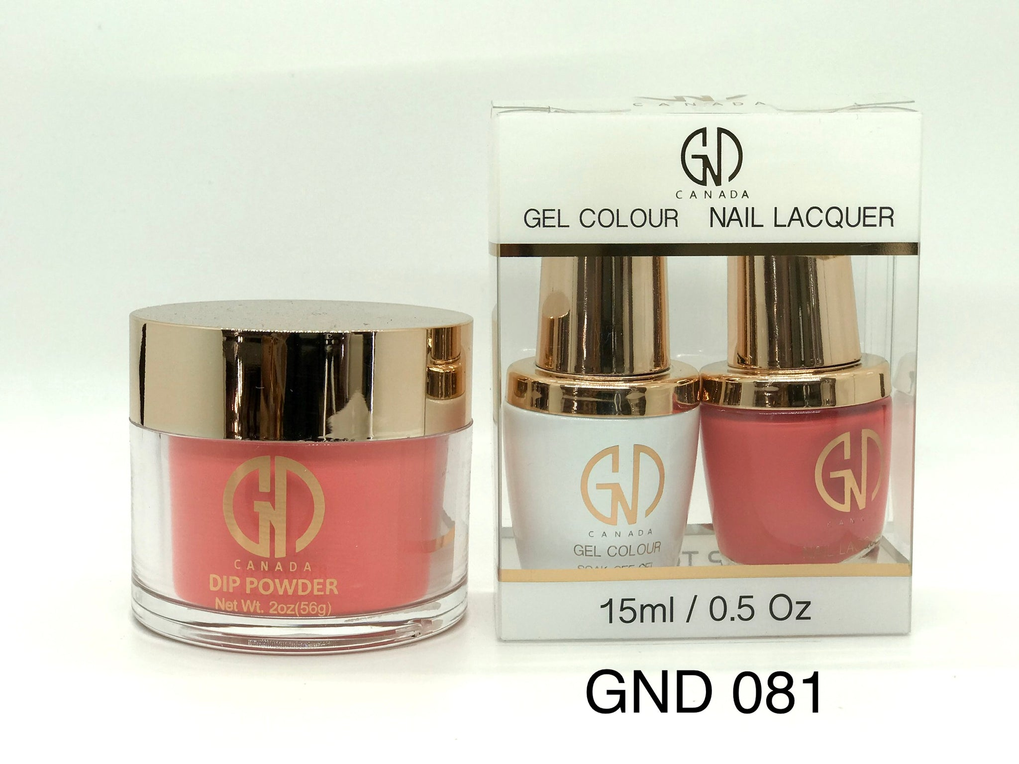 3-in-1 Nail Combo: Dip, Gel & Lacquer #081 | GND Canada® - CM Nails & Beauty Supply