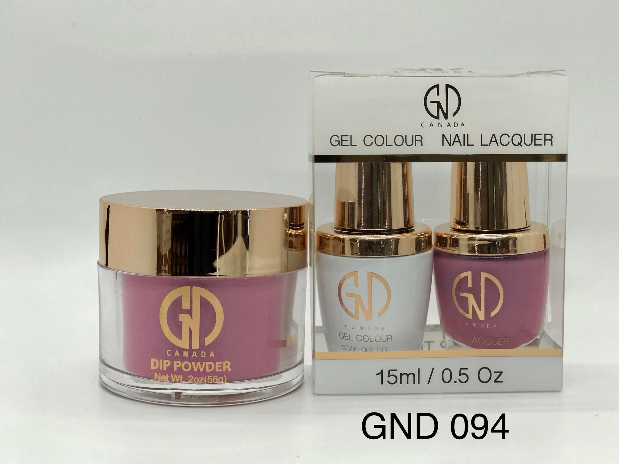 3-in-1 Nail Combo: Dip, Gel & Lacquer #094 | GND Canada® - CM Nails & Beauty Supply