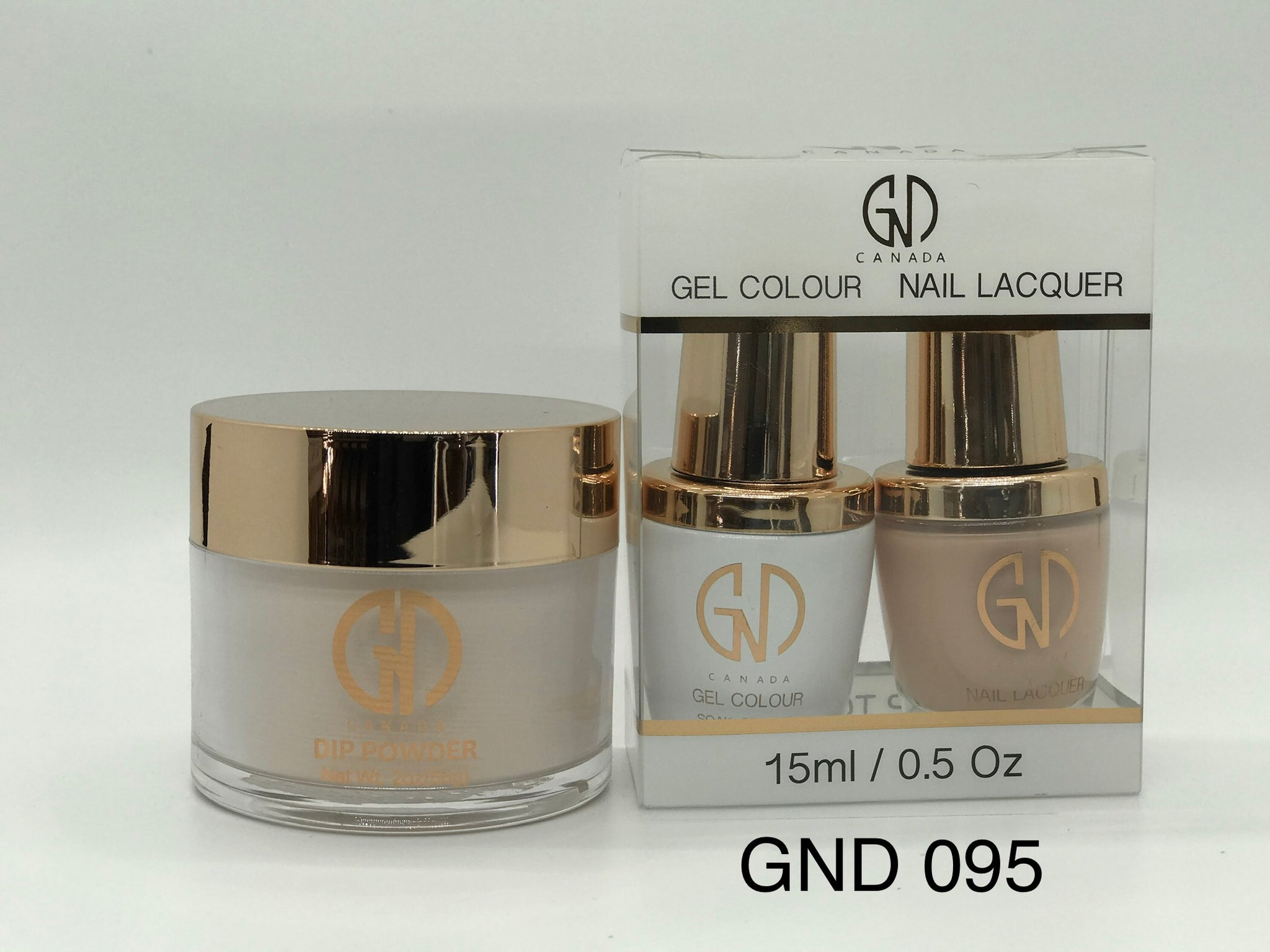 3-in-1 Nail Combo: Dip, Gel & Lacquer #095 | GND Canada® - CM Nails & Beauty Supply