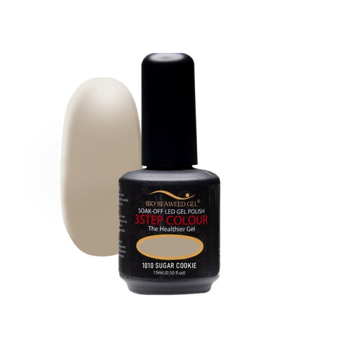 1010 SUGAR COOKIE | Bio Seaweed Gel® - CM Nails & Beauty Supply