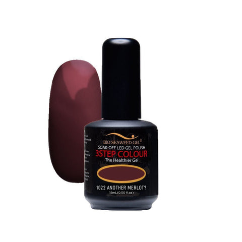 1022 ANOTHER MERLOT? | Bio Seaweed Gel® - CM Nails & Beauty Supply