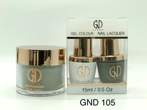 3-in-1 Nail Combo: Dip, Gel & Lacquer #105 | GND Canada® - CM Nails & Beauty Supply