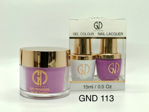 3-in-1 Nail Combo: Dip, Gel & Lacquer #113 | GND Canada® - CM Nails & Beauty Supply