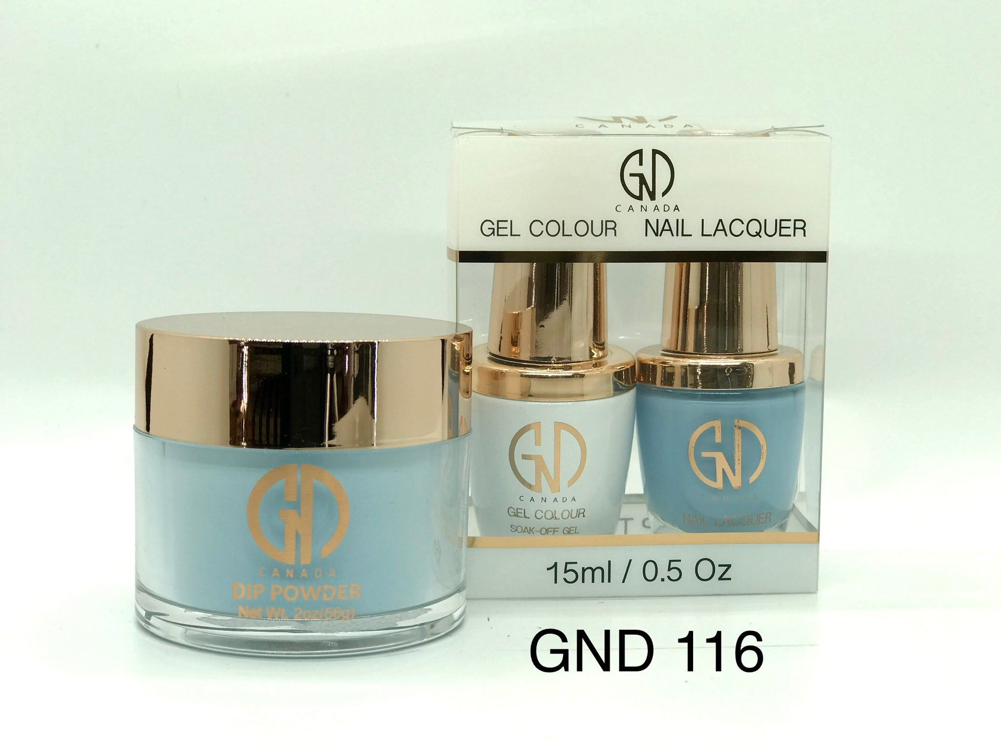 3-in-1 Nail Combo: Dip, Gel & Lacquer #117 | GND Canada® - CM Nails & Beauty Supply