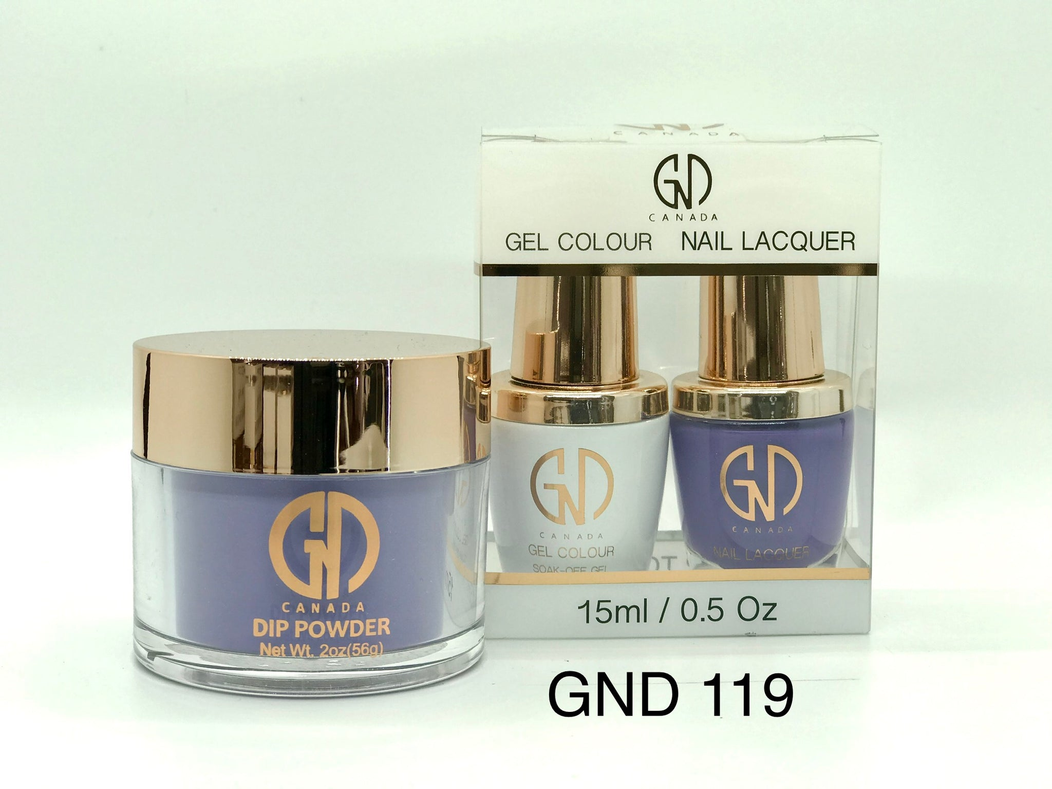 3-in-1 Nail Combo: Dip, Gel & Lacquer #119 | GND Canada® - CM Nails & Beauty Supply
