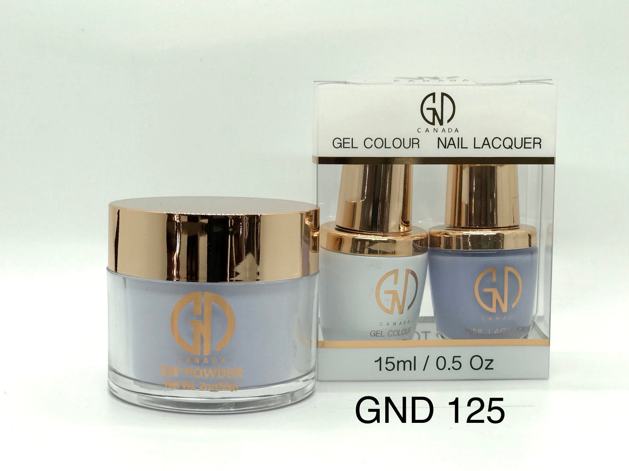 3-in-1 Nail Combo: Dip, Gel & Lacquer #125 | GND Canada® - CM Nails & Beauty Supply