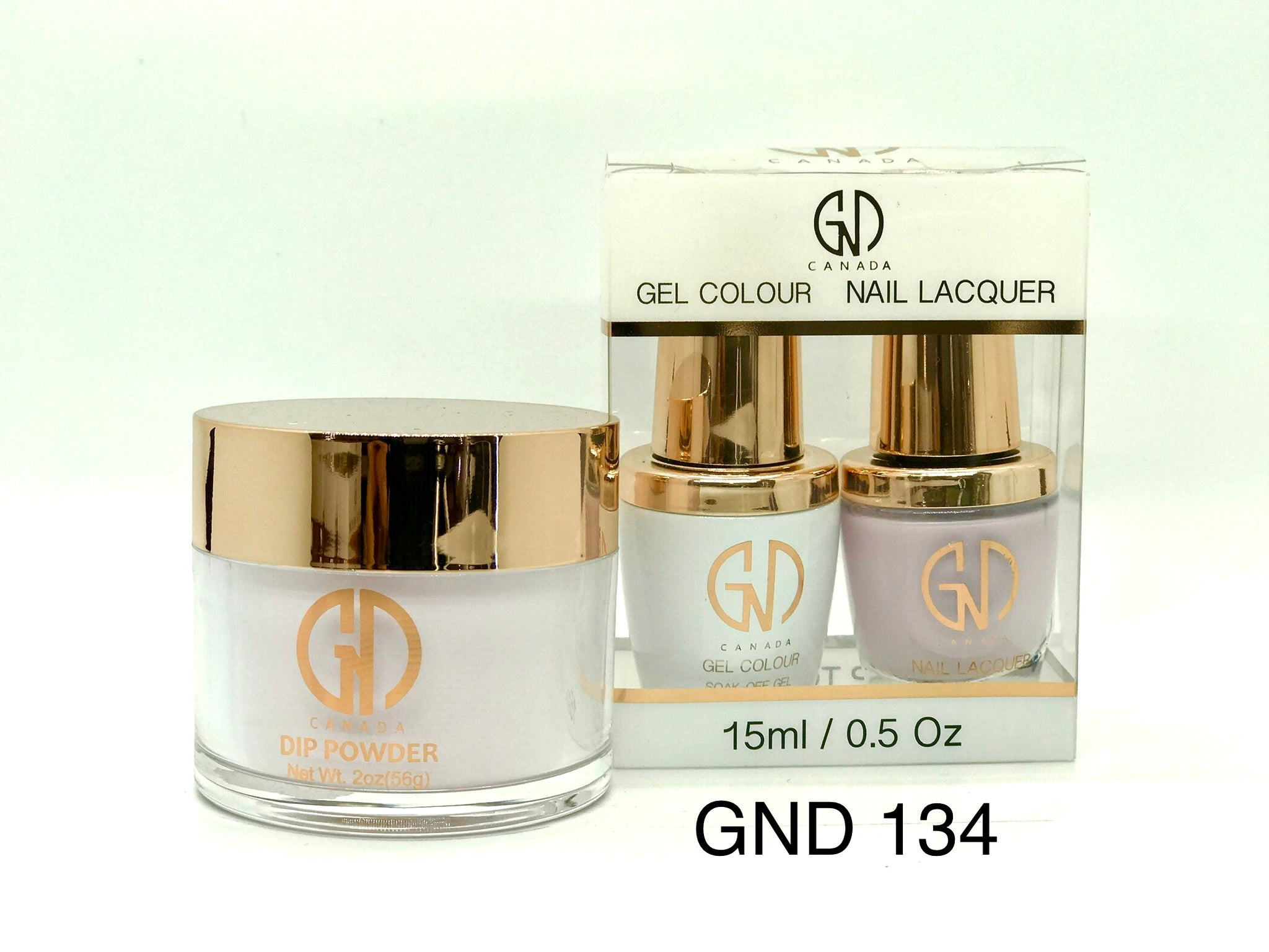 3-in-1 Nail Combo: Dip, Gel & Lacquer #134 | GND Canada® - CM Nails & Beauty Supply
