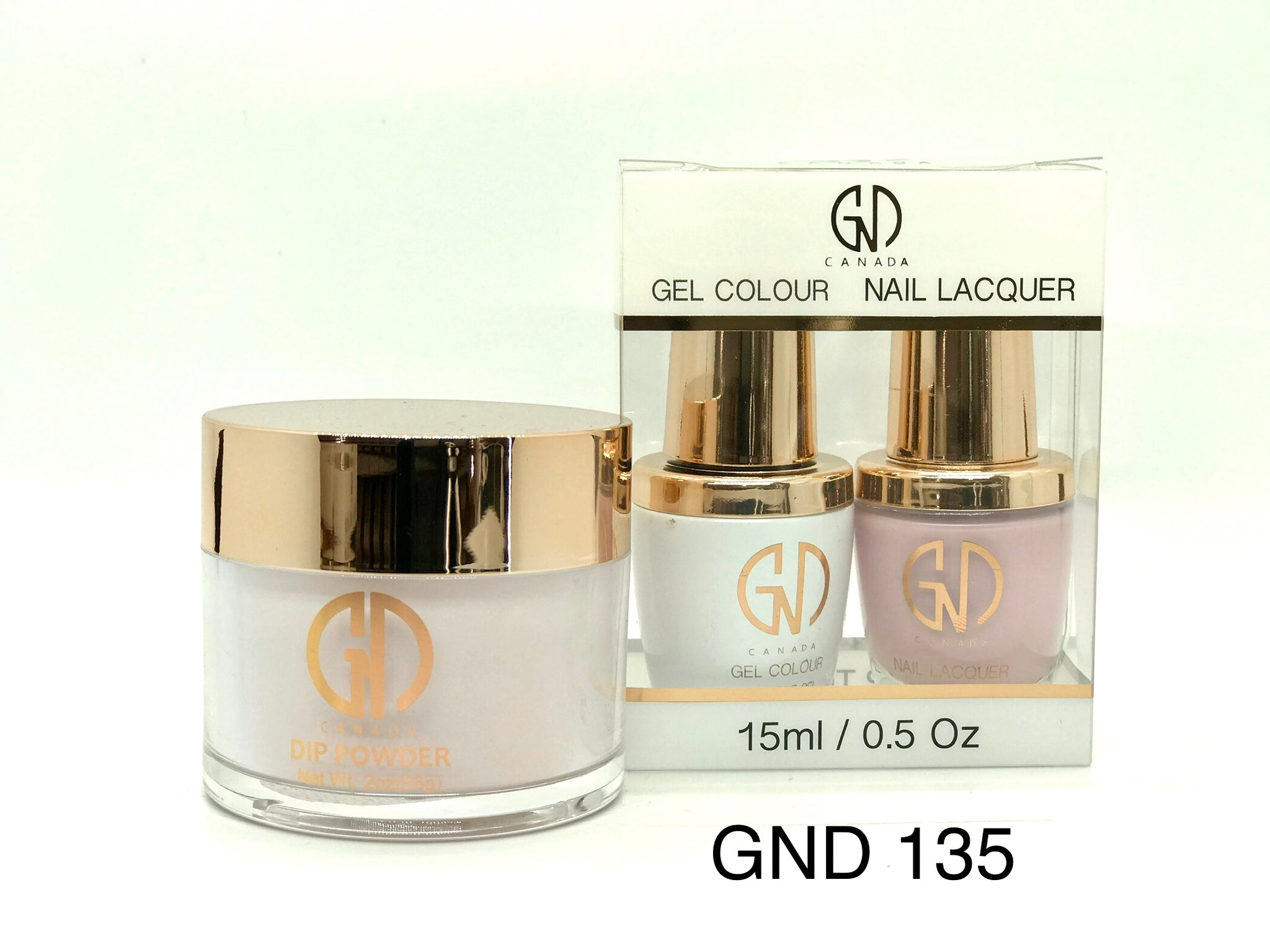 3-in-1 Nail Combo: Dip, Gel & Lacquer #135 | GND Canada® - CM Nails & Beauty Supply