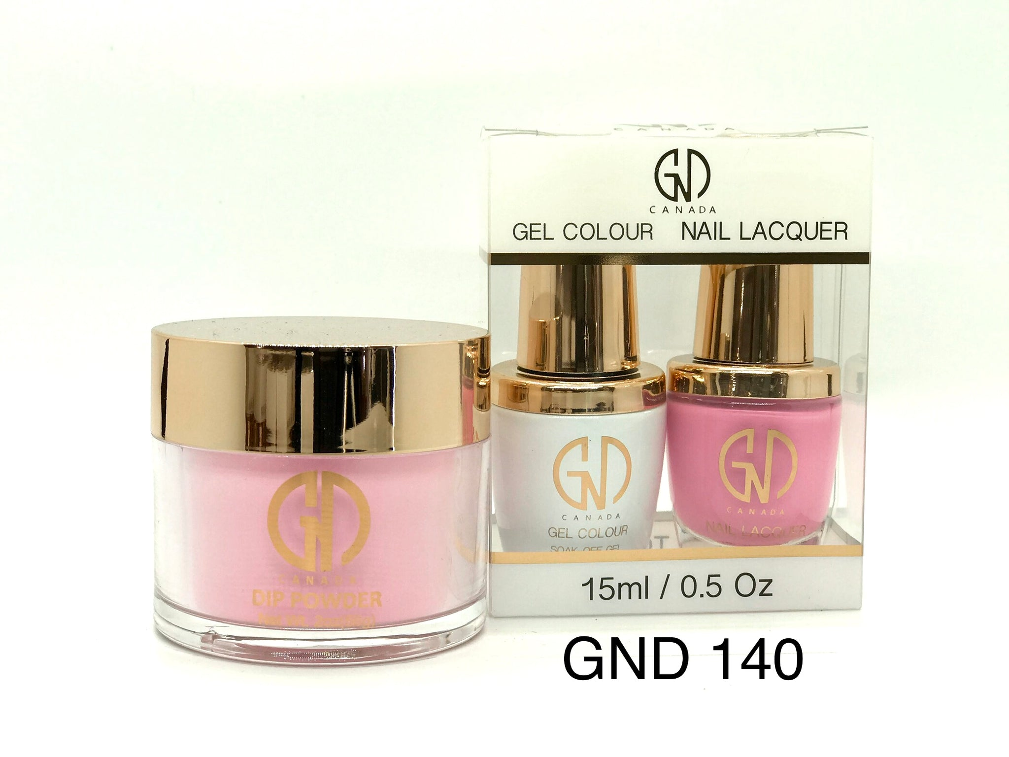 3-in-1 Nail Combo: Dip, Gel & Lacquer #140 | GND Canada® - CM Nails & Beauty Supply