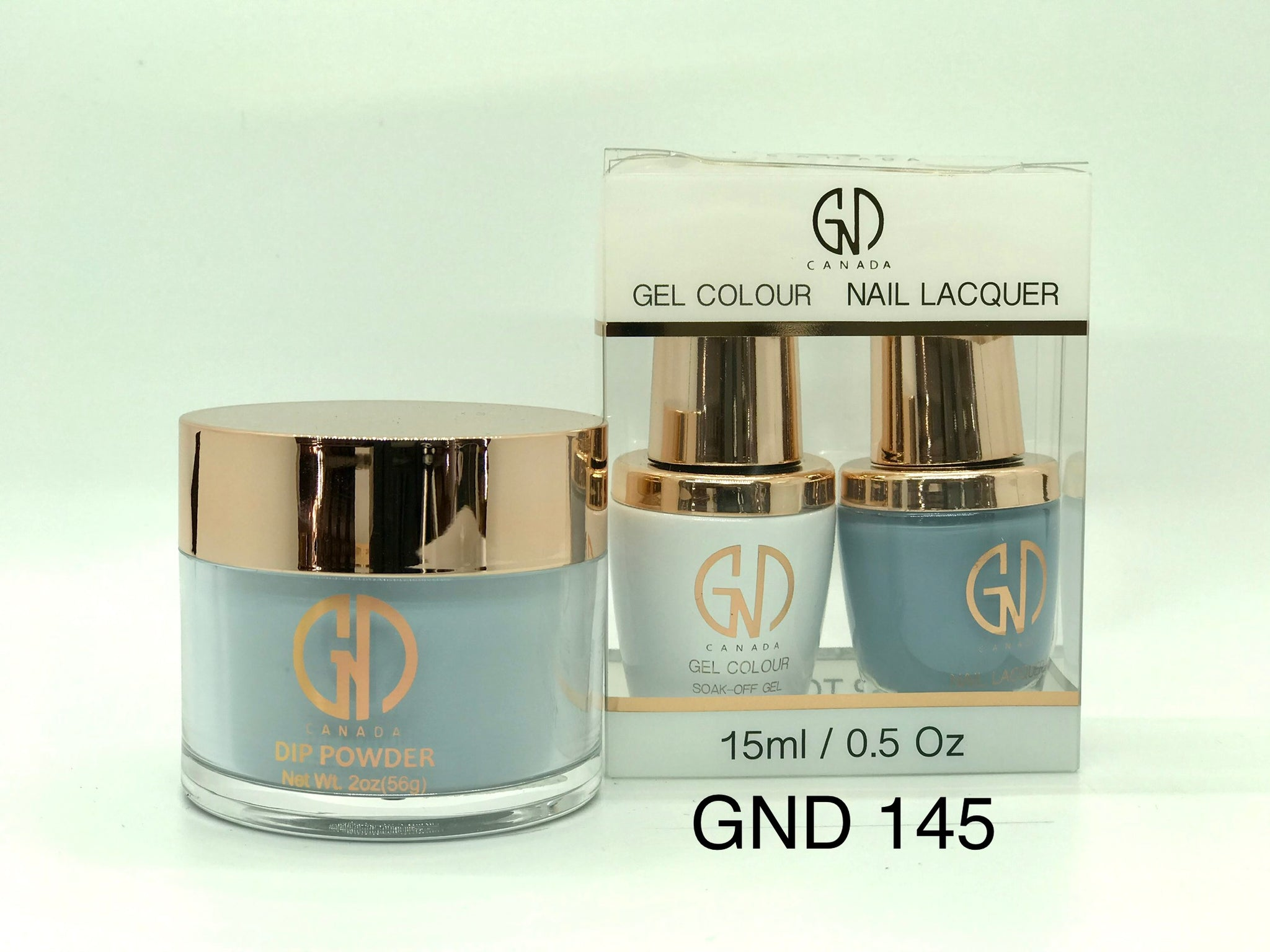 3-in-1 Nail Combo: Dip, Gel & Lacquer #145 | GND Canada® - CM Nails & Beauty Supply