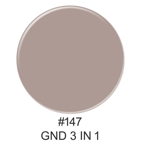 3-in-1 Nail Combo: Dip, Gel & Lacquer #147 | GND Canada® - CM Nails & Beauty Supply