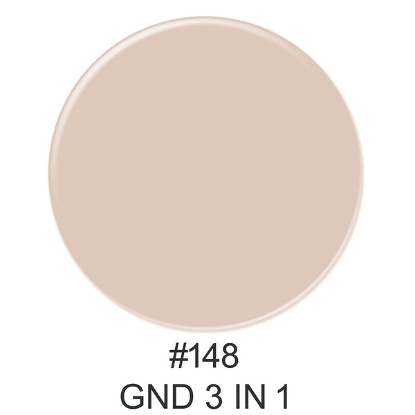 3-in-1 Nail Combo: Dip, Gel & Lacquer #148 | GND Canada® - CM Nails & Beauty Supply