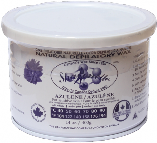 Natural Soft Wax - Azulene (14 oz) | Sharonelle - CM Nails & Beauty Supply