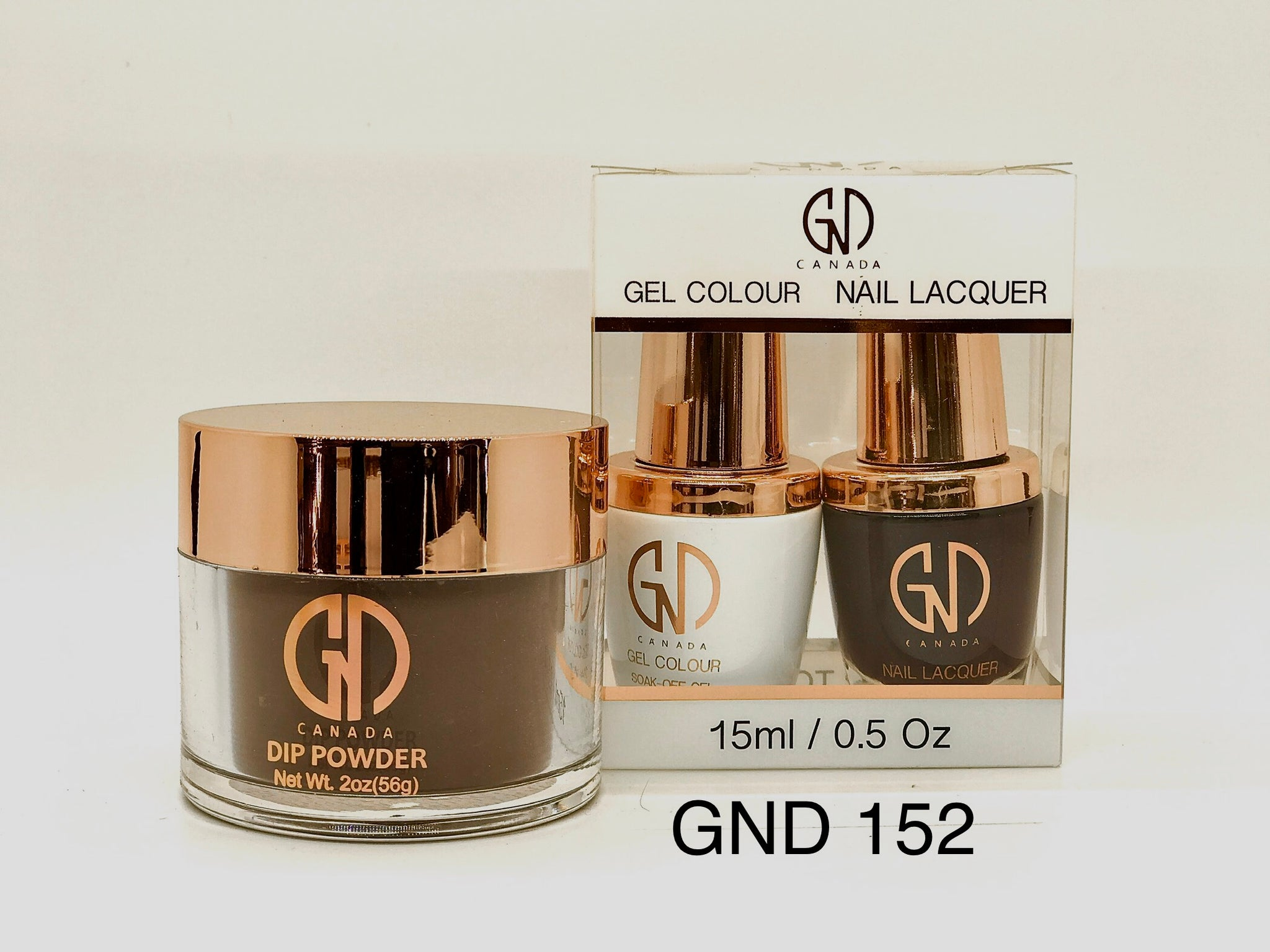 3-in-1 Nail Combo: Dip, Gel & Lacquer #152 | GND Canada® - CM Nails & Beauty Supply