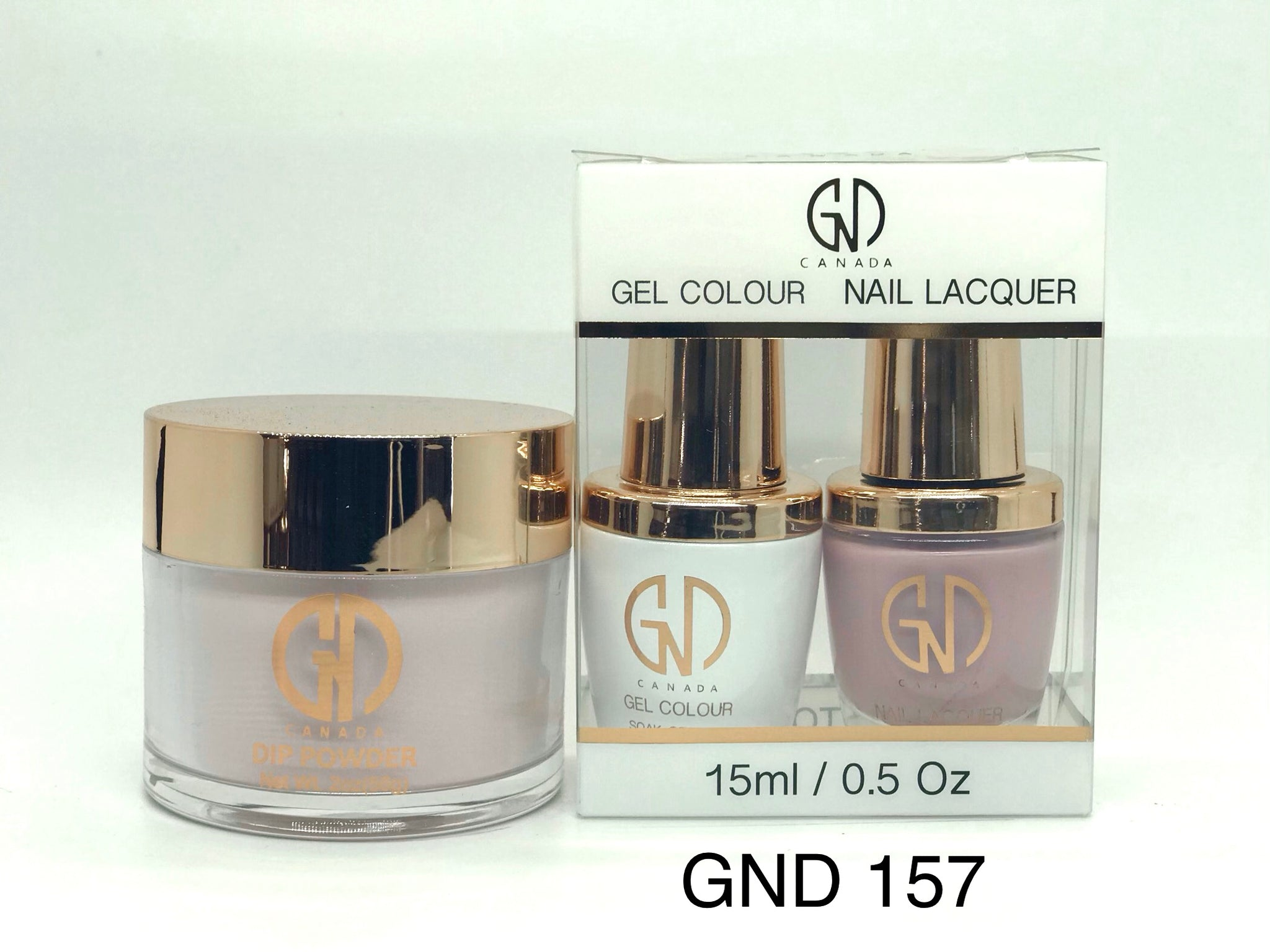 3-in-1 Nail Combo: Dip, Gel & Lacquer #157 | GND Canada® - CM Nails & Beauty Supply