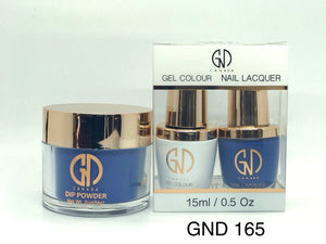 3-in-1 Nail Combo: Dip, Gel & Lacquer #165 | GND Canada® - CM Nails & Beauty Supply
