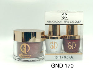 3-in-1 Nail Combo: Dip, Gel & Lacquer #170 | GND Canada® - CM Nails & Beauty Supply