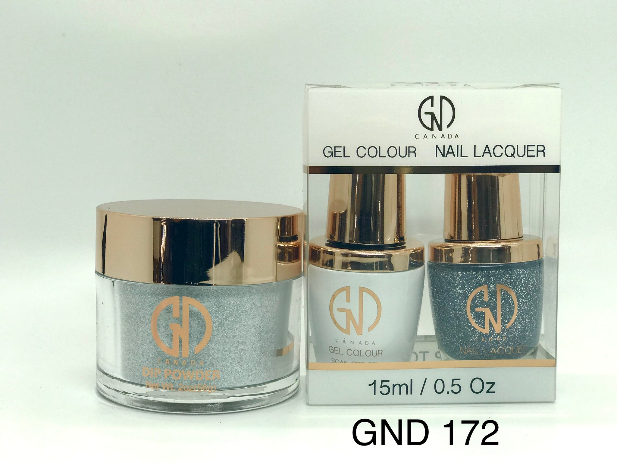 3-in-1 Nail Combo: Dip, Gel & Lacquer #172 | GND Canada® - CM Nails & Beauty Supply