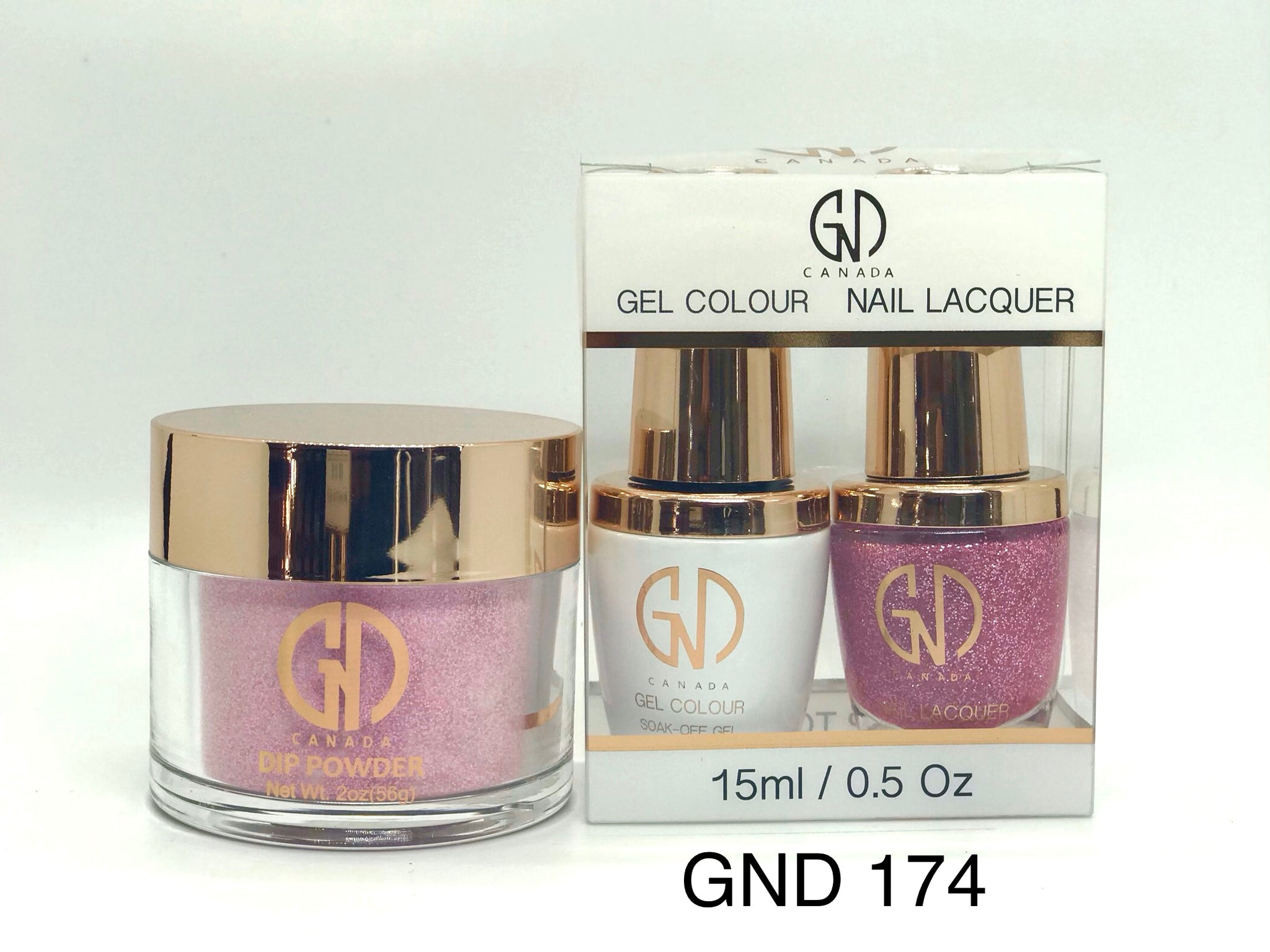 3-in-1 Nail Combo: Dip, Gel & Lacquer #174 | GND Canada® - CM Nails & Beauty Supply