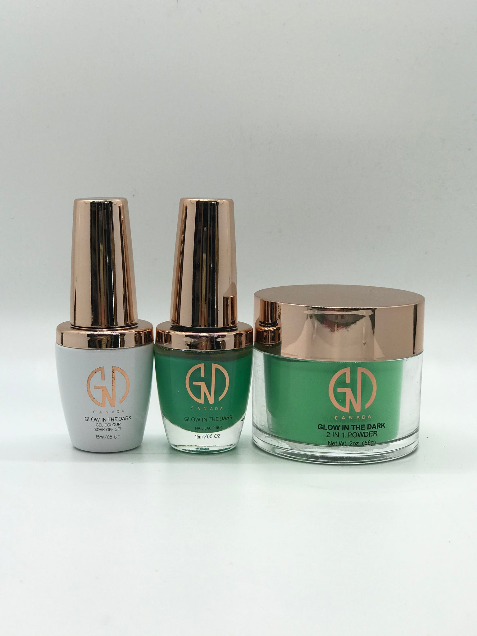 "3-in-1 Nail Combo: ""Glow in the Dark"" #1 