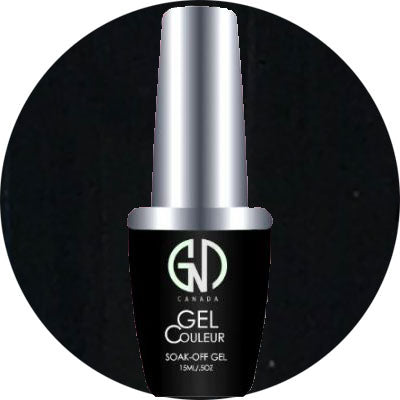 Super Black | GND CANADA® 1-Step Gel - CM Nails & Beauty Supply