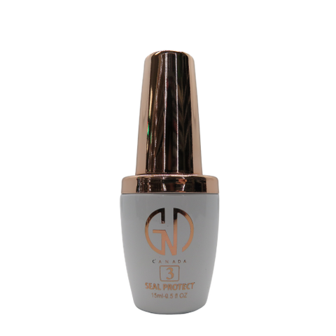 GND #3 Seal Protector (15ml) | GND Canada® - CM Nails & Beauty Supply