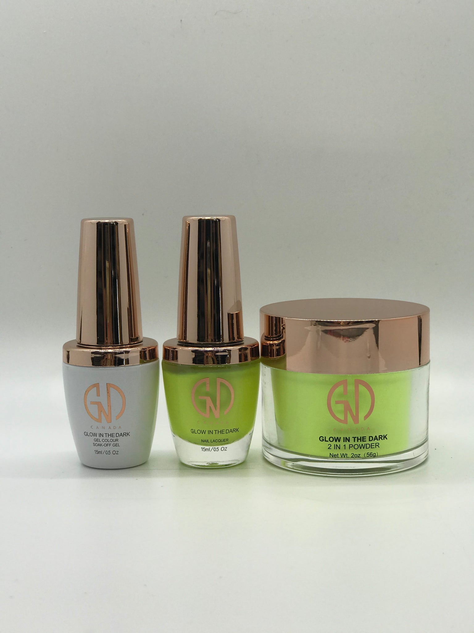"3-in-1 Nail Combo: ""Glow in the Dark"" #6 