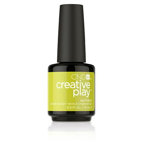 CND Creative Play Gel Polish - Toe The Lime | CND - CM Nails & Beauty Supply