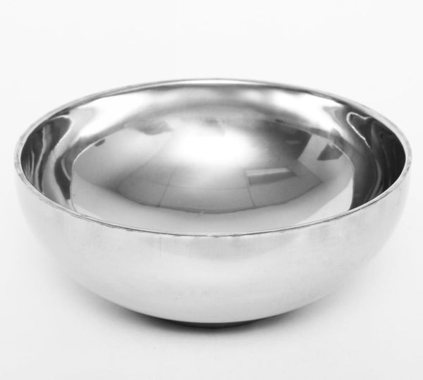 Stainless Steel Double-Wall Mixing Bowl - CM Nails & Beauty Supply