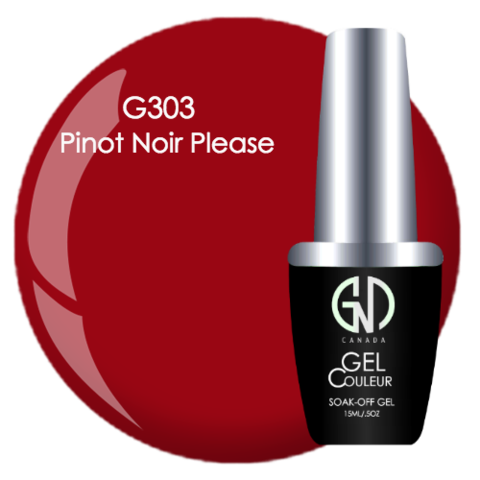 Pinot Noir Please | GND CANADA® 1-Step Gel - CM Nails & Beauty Supply