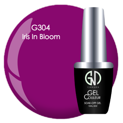 Iris in Bloom | GND CANADA® 1-Step Gel - CM Nails & Beauty Supply