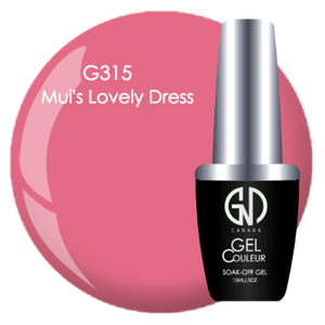 Mui's Lovely Dress | GND CANADA® 1-Step Gel - CM Nails & Beauty Supply