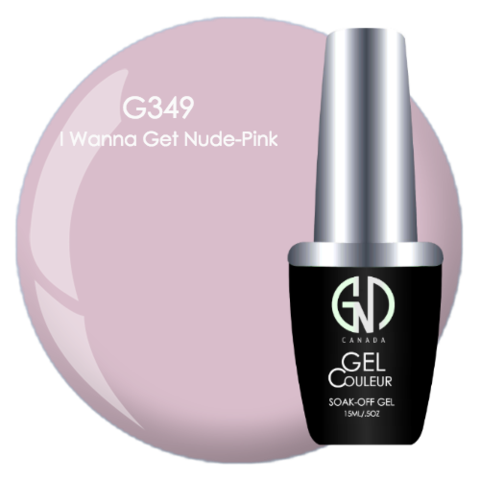 I Wanna Get Nude Pink | GND Canada® 1-Step Gel - CM Nails & Beauty Supply