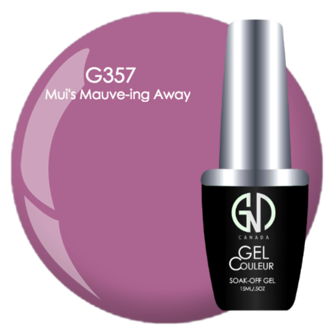 Mui's Mauve-ing Away | GND Canada® 1-Step Gel - CM Nails & Beauty Supply