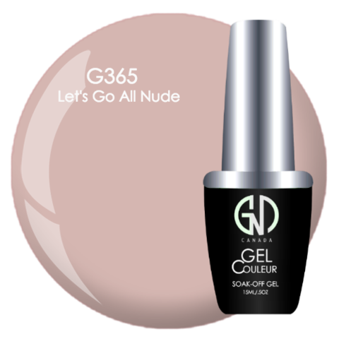 Let's Go All Nude | GND Canada® 1-Step Gel - CM Nails & Beauty Supply