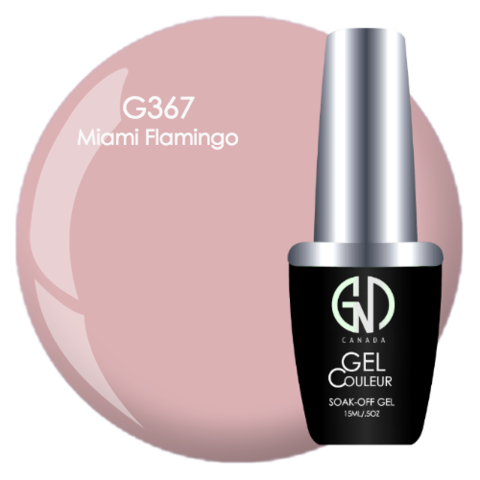 Miami Flamingo | GND Canada® 1-Step Gel - CM Nails & Beauty Supply