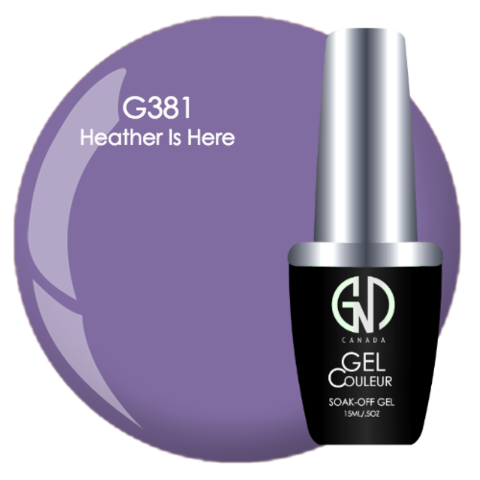 Heather is Here | GND Canada® 1-Step Gel - CM Nails & Beauty Supply