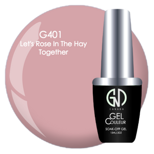 Let's Rose in the Hay Together | GND Canada® 1-Step Gel - CM Nails & Beauty Supply