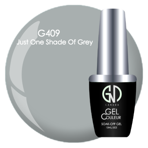 Just One Shade of Grey | GND Canada® 1-Step Gel - CM Nails & Beauty Supply