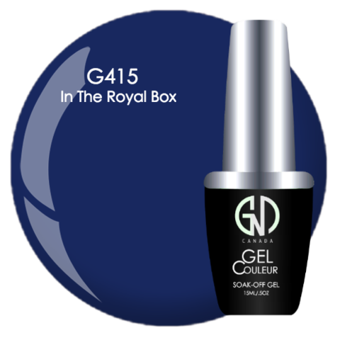 In the Royal Box | GND Canada® 1-Step Gel - CM Nails & Beauty Supply