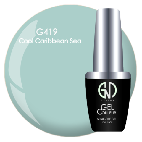Cool Caribbean Sea | GND Canada® 1-Step Gel - CM Nails & Beauty Supply