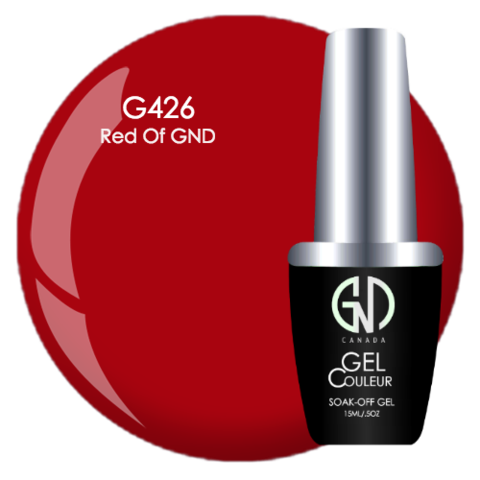 Red of GND | GND Canada® 1-Step Gel - CM Nails & Beauty Supply