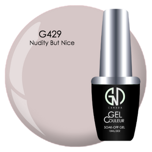Nudity but Nice | GND Canada® 1-Step Gel - CM Nails & Beauty Supply