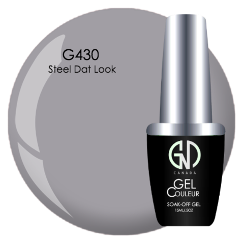 Steel Dat Look | GND Canada® 1-Step Gel - CM Nails & Beauty Supply
