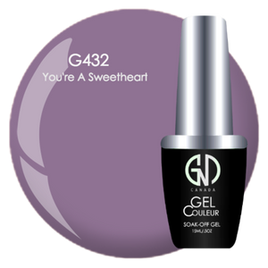 You're a Sweetheart | GND Canada® 1-Step Gel - CM Nails & Beauty Supply